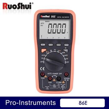 цена на 86E Digital Multimeter Current Resistance meter transistor multimetros de alta calidad continuity tester (Victor RuoShui )