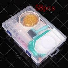 58 шт набор коробка для хранения алмазной живописи инструменты