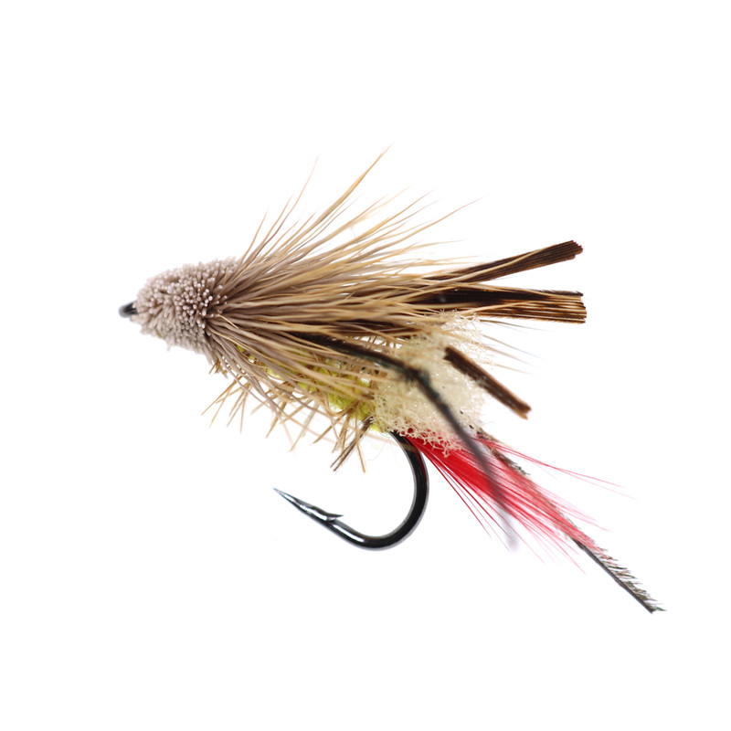 Mouse Tail Trout Black Red 8//10mm Soft Baits Lure