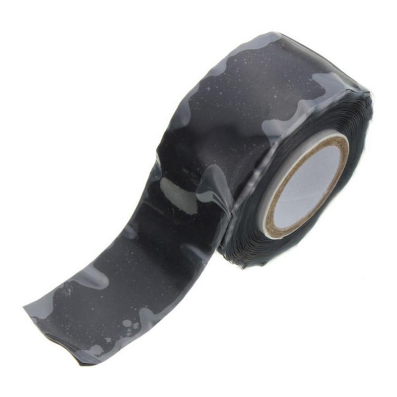 1.5M Insulation Tape Electric High Pressure Self-adhesive Tape Garden Water Pipeline Repair Tape Rescue Self Fusing Wire
