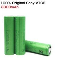 VTC6 3,7 V 3000mAh литий-ионная аккумуляторная батарея 18650 для sony US18650VTC6 30A игрушки фонарик инструменты