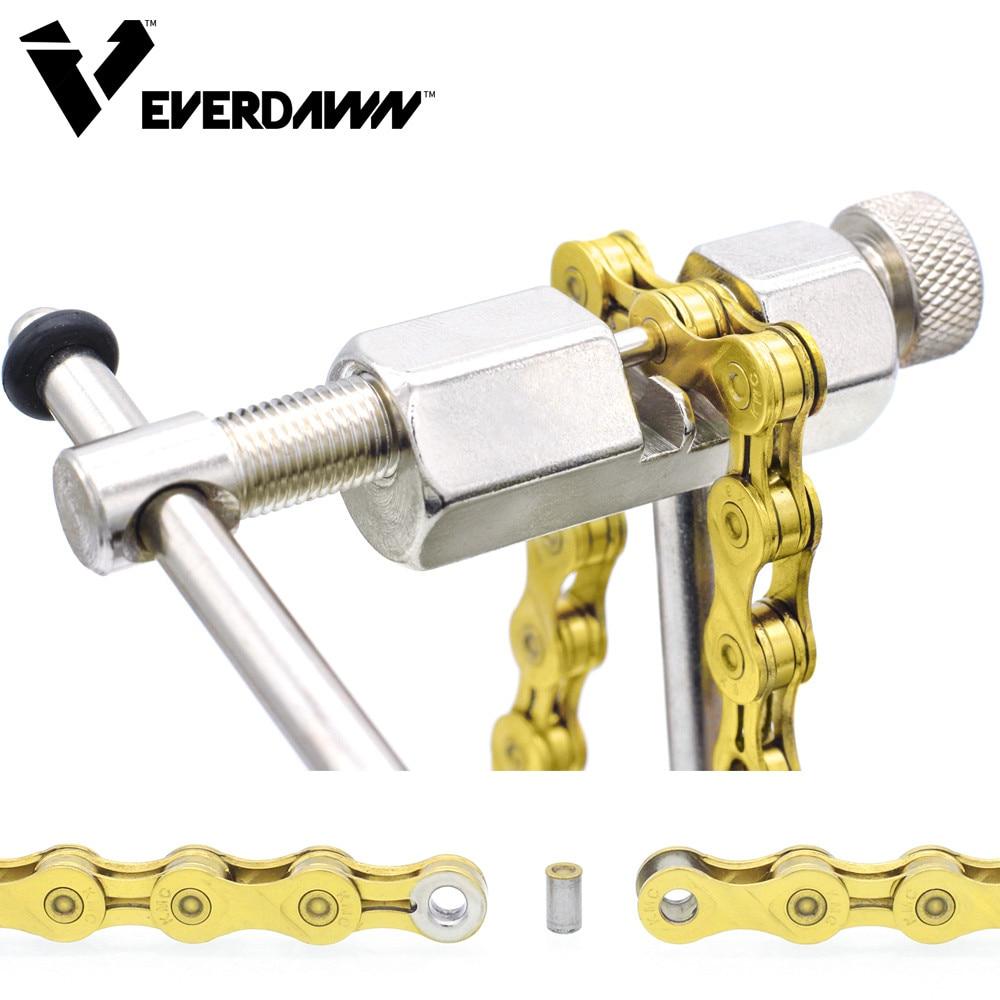 EVERDAWN Bicycle Chain Rivet Repair Tool Breaker Splitter Pin Remove
