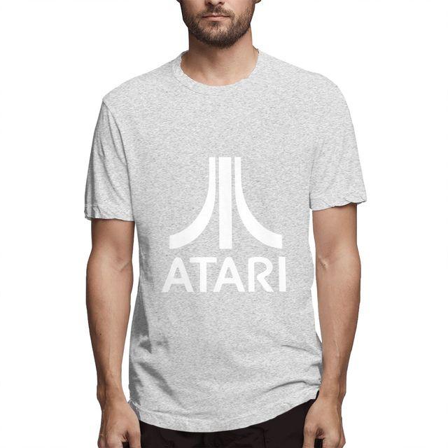 2020 nova camiseta masculina sexy tshirt impressão atari camiseta masculina verão camisetas