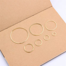 10pcs Floating Charms Alloy Circular Charm Hollow Glue Blank Pendant Bezel Jewelry Accessories Charms(China)