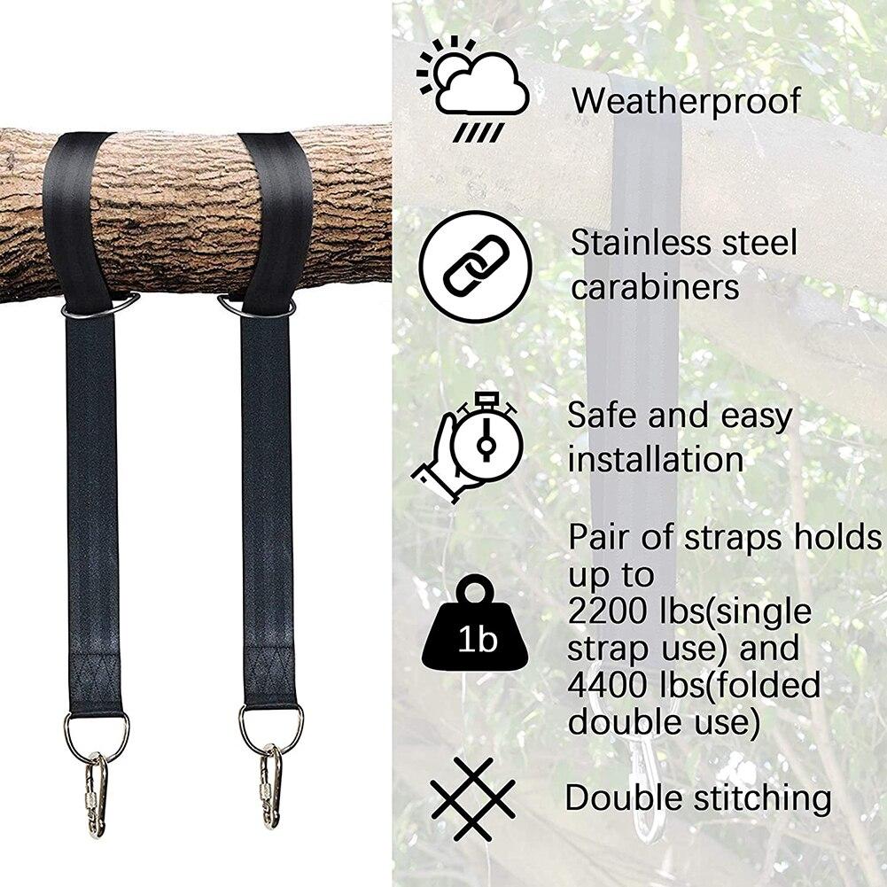 Um par de árvore balanço pendurado kit
