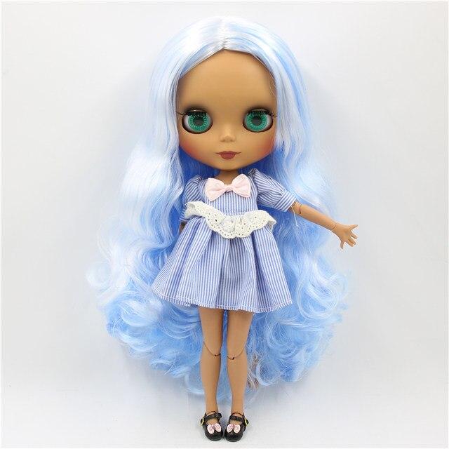Delilah – Premium Custom Blythe Doll with Cute Face 1