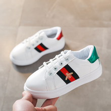 Brand Kids Sneakers For Boy Girl New Spring Autumn Toddler Children's Baby White