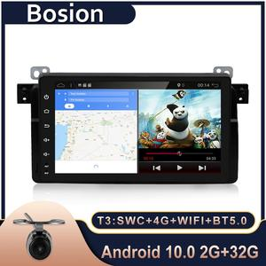 "Image 1 - Bosion Android 10.0 Do Carro DVD GPS Navi Multimedia Player para BMW E53 X5 E39 5 97 06 com Wi fi 4G BT RDS Radio 2G ROM 9 ""Full Touch"