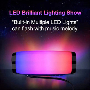 Image 2 - Portable Bluetooth Speaker LED Wireless Speakers 10W 3D Stereo Music Surround Subwoofer Support FM TF Card Outdoor Loudspeaker