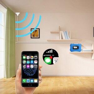 Image 5 - ¡Pantalla LCD! Mini amplificador de teléfono móvil inteligente 3G, 2100 MHz, repetidor 3G, UMTS, kit de amplificador de Amplificador de señal móvil 3G para 3G