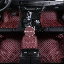 ZRCGL Custom Car boden matte für Mitsubishi Alle Modelle pajero grandis outlander galant Lancer ex ASX lancer pajero sport