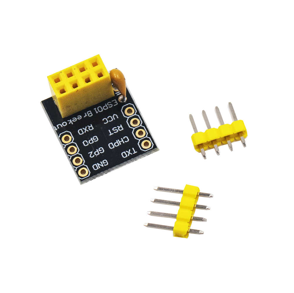 1pcs For ESP-01 Esp8266 ESP-01S Model The ESP8266 Serial Breadboard Adapter To WiFi Transceiver Module Breakout UART Module