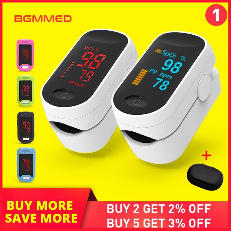 Medische Digitale Pulsoximeter LED Saturatiemeter blood oxygen Hartslagmeter SpO2 Gezondheid Monitoren Saturatiemeter De Dedo