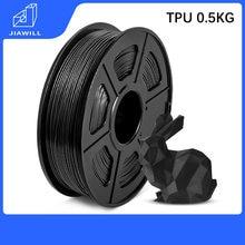 Tpu Filament 3D Printer Plastic 1.75Mm 0.5Kg 3D Printing Filament Goede Aging Weerstand Zachte Materialen Gratis Verzending