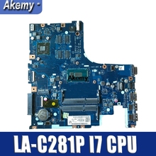 LA-C281P Scheda Madre Del Computer Portatile per For Lenovo Ideapad Z51-70 Mainboard Originale I7-5500U R7-Video