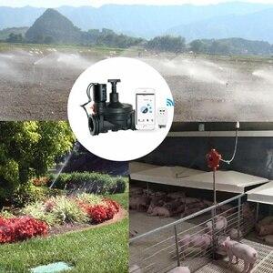 Image 5 - 1.3 Cal zawór wody dla WiFi TUYA kontroler inteligentny uchwyt gazu wody zawór kontroler garnitur dla domu i na zewnątrz nawadniania Promo