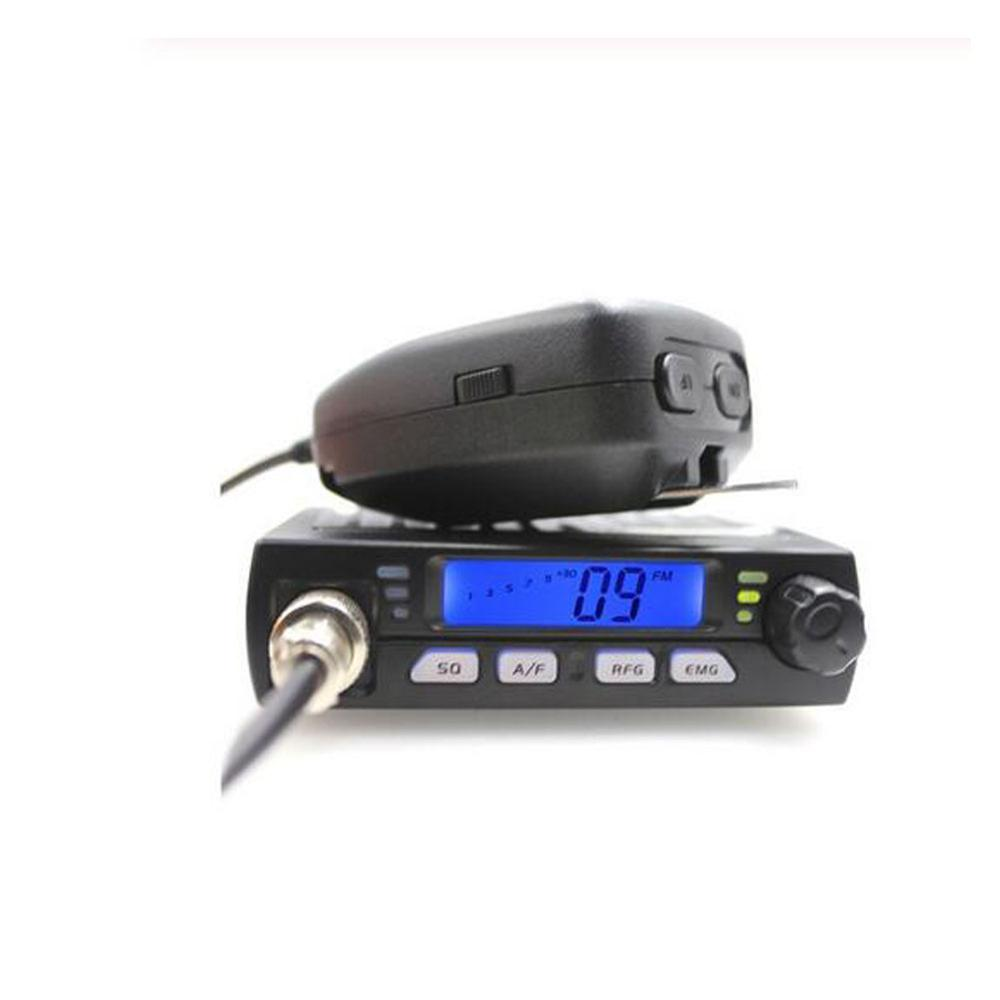 Ultra Mini CB-40M 25.615--30.105MH 8W Citizen Band CB Radio Mobile Transceiver Compact AM/FM Car Radio Same With AC-001 AR-925