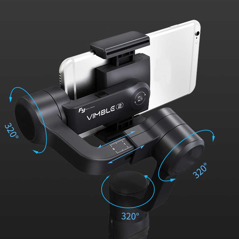 السفر 3 محور يده Gimbal Selfie عصا المحمولة للهواتف الذكية مكافحة هزة بانوراما مريح الفاصل الزمني للتمديد