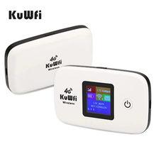 KuWFi 4G Router 150Mbps Wireless Wifi 3G/4G LTE Router Entsperrt Globale Sim-karte TDD/FDD Router Mit SIM Karte & TF Karte Slot