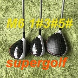 Image 1 - Новый гольф Драйвер M6 драйвер 3 #5 # фарватер леса с FUBUKI графитовый Вал головной ключ клюшки для гольфа