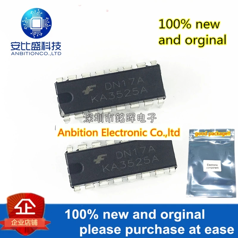 10pcs 100% New And Orginal KA3525A DIP16 The Voltage Mode PWM Controller Is Directly Inserted Into The Monolithic Integ In Stock