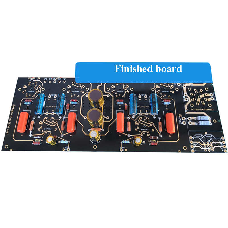 Lusya 6V6/EL84 10W צינור אודיו מגבר PCB לוח DIY ערכות עבור צינור מגבר T1181