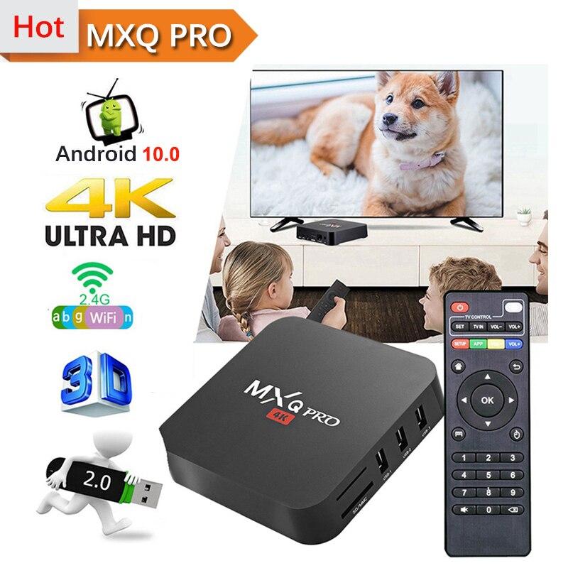MXQ PRO 4K 5G Android ТВ коробка S905W 4 ядра, 2 Гб оперативной памяти, 16 Гб встроенной памяти, 2,4G, Wi-Fi, 4K 3D Смарт ТВ Android 10,0 Смарт ТВ коробка MXQ PRO 4K Sep компьюте...