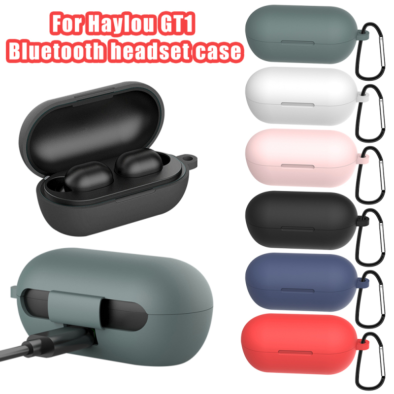 Silicone Case For Haylou GT1 GT1 Plus TWS Bluetooth Earphones Case Soft Silicone Wireless Headphones Cover For Hay Lou Headset