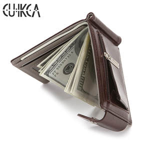 CUIKCA Wallet Card-Cases Coin-Bag Money-Clip Credit-Card-Holders Slim Women Zipper ID