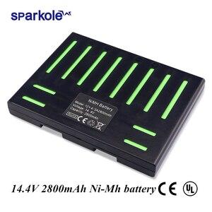Image 1 - (Für QQ5) sparkole 14,4 V 2800mAh NIMH Batterie für Cleanmate QQ5 Vakuum Reinigung Roboter (CE & UL genehmigt)