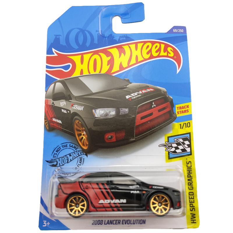 2020 Hot Wheels 1:64 Car 2008 LANCER EVOLUTION Collector Edition Metal Diecast Model Cars Kids Toys Gift