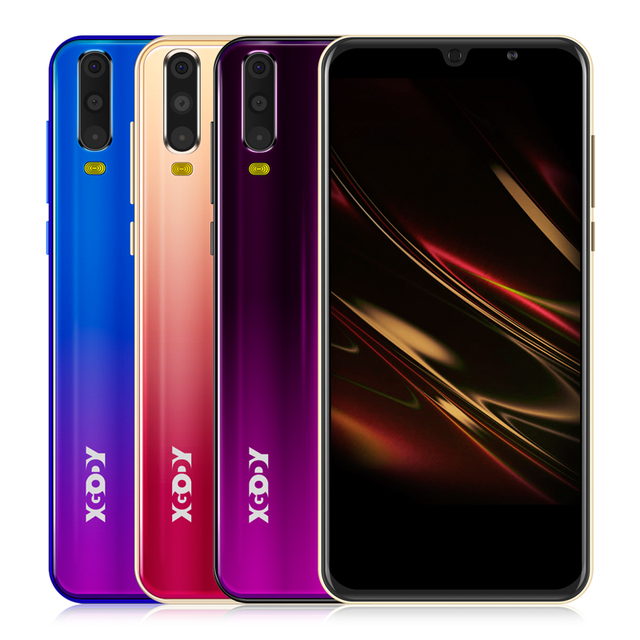 "XGODY Smartphone Android 9.0 5.5"" 18:9 Full Screen Dual SIM Mobile Phone 1GB 8GB Quad Core 5MP GPS WiFi 3G Cell Phones S20 Mini 6"