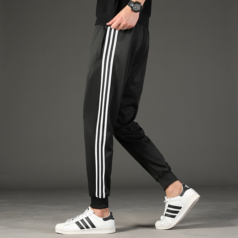 Spring Autumn Streetwear Trousers Men's Sweatpants M-4XL Casual Large Size Pants Elastic Solid Trend Sports Joggers,ZA349