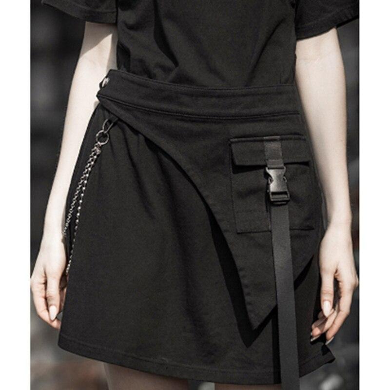 2020 Summer Punk Metal Belt Woman Decoration Fashion Pocket Waist Wide Cummerbunds