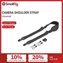 SmallRig Universal DSLR Camera Shoulder Strap With QR Plate For Arca Swiss Tripod And Manfrotto RC2 Tripod  2428