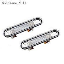 2 Pcs White LED License Plate Light Fit for W124 W201/202 Models