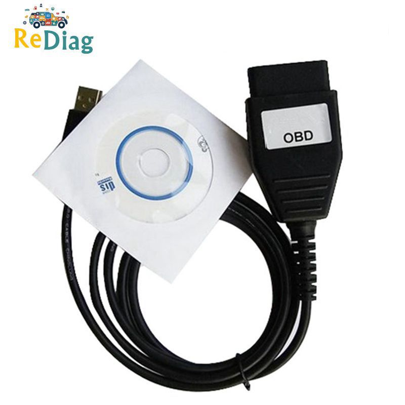 Professional OBD USB Interface For Ford VCM OBD Diagnostic Cable FocomVCM OBD Focom Ford OBDII Car Diagnostic Scanner