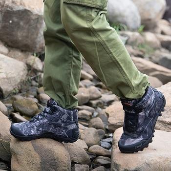 Winter Waterproof Tactical Boots Men Big Mountain Hiking Boots Outdoor Combat Shoes Trekking Sneakers Man Hiking Hunting Boots 3