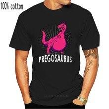 Engraçado pregosaurus dinossauro maternidade prego camisa das mulheres