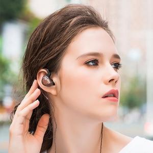 Image 5 - KZ ES4 בצגי אוזן אבזור ודינמי היברידי אוזניות אוזן אוזניות אוזניות HiFi בס רעש ביטול אוזן ווי אוזניות