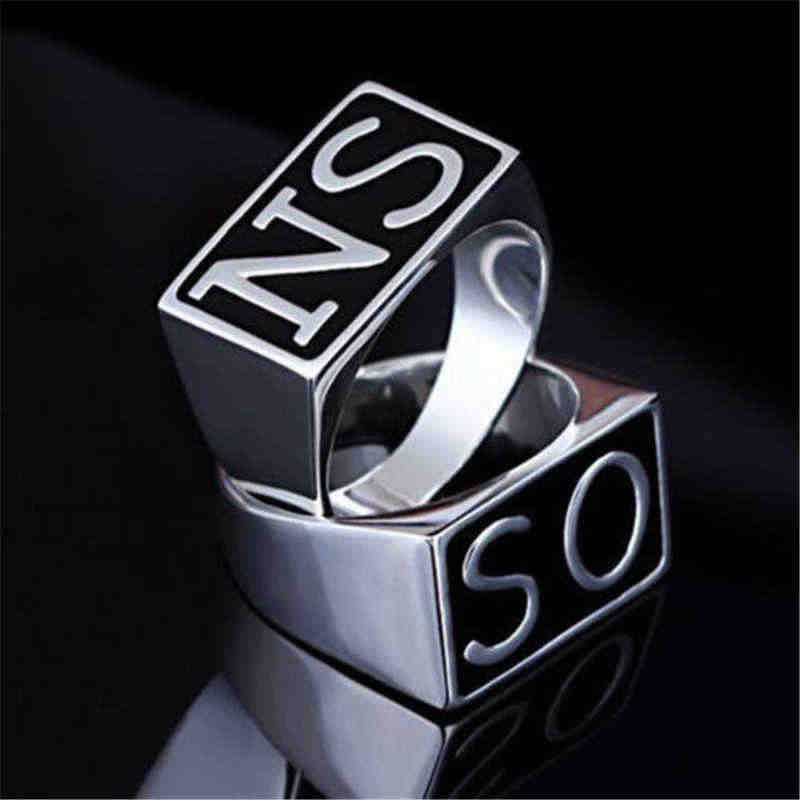 2 Pcs Sons Of Anarchy Tv Soa Cosplay Sons Ringen Dus Ns Zilveren Gouden Maya 'S Mc Steampunk Rock Punk Ringen mannen Cosplay Props