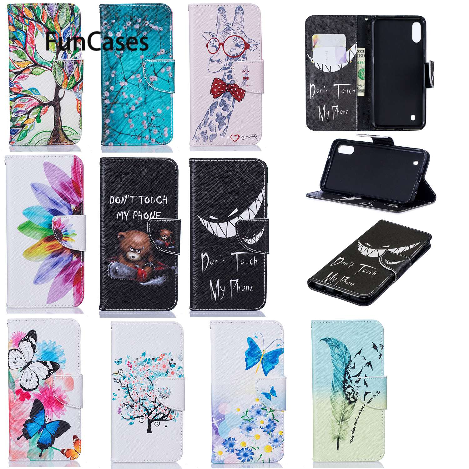 Life Tree Cases For Samsung M10 Galaxy A10 A10E A10S Note 10 Pro A30 A20S A71 S11 M20 M30 A50 S11E A70 A51 A20E A40 Wallet Case image