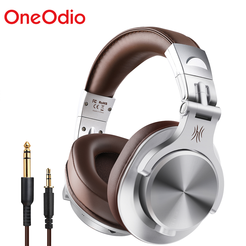 OneOdio A7 Fusion Bluetooth Headphones Studio Recording  Wired/WirelessHeadphones with Share port Professional Monitor|Bluetooth Earphones & Headphones|   - AliExpress