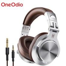Oneodio A70 Fusion Bluetooth 5.0 Hoofdtelefoon Studio Recording Bedrade/Draadloze Hoofdtelefoon Met Delen Poort Professionele Monitor