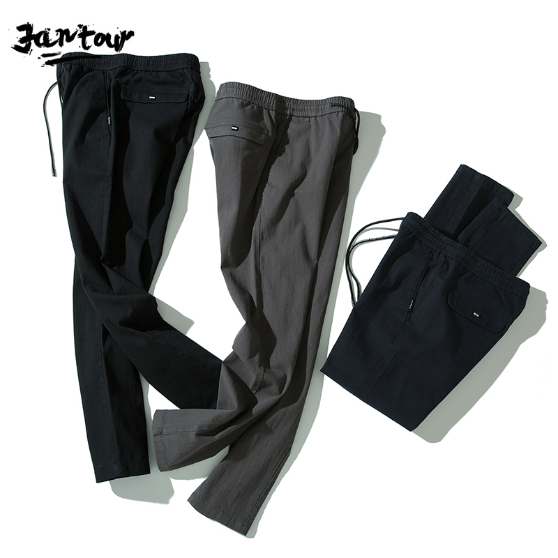 2020 New Pants Men Fashion Business Stretch Men Chinos Trousers Casual Black Blue Cotton Pants Men Pentalon Homme Mens Clothing