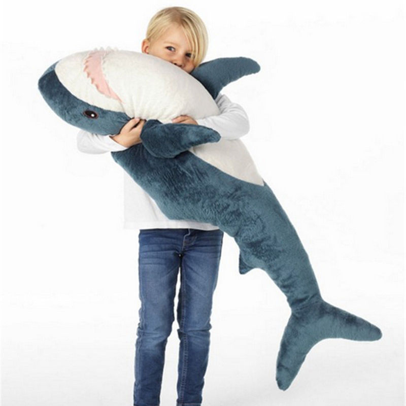 Animal Doll Pillow Sofa-Cushion Shark-Toys Birthday-Gift Russia Soft Stuffed Plush-From-Ike title=
