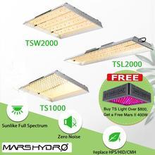 Mars Hydro TS 600W 1000W 2000W 3000W светодиодный светильник для выращивания солнечных лучей полный спектр комнатных растений Veg цветок гидропоника