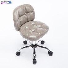 Барный стул компьютерное кресло домашнее маленькое со спинкой поворотный стул кофе стул