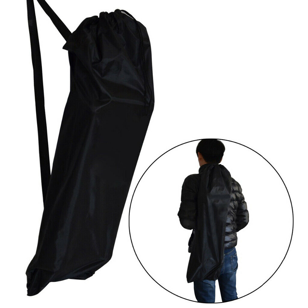 Skateboard Bag Thickened Storage Accessories Single Shoulder Travel Oxford Cloth Protection Longboard Backpack Waterproof Black