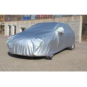 Image 3 - Full Car Cover Car Accessories With Side Door Open Design Waterproof For Hyundai HB20 Solaris Tucson IX25 IX35 ENCINO ELANTRA